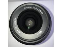 Nikkor AF-S 18-55mm DX VR I. F3.5-5.6G Nikon Lens DSLR