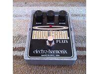Holy Grail Plus by Electro Harmonix guitar pedal. (Reverb) £68. Cash on collection. Birmingham
