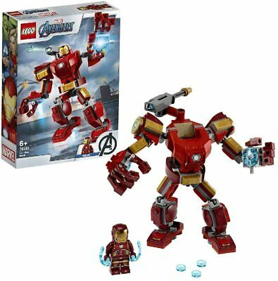 LEGO Marvel Avengers Iron Man Mech Playset Battle Action Figure Armoured Toy