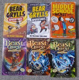 Mix Books Softback - £1 each