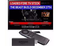 Amazon Fire Stick KODI 16.1 FULLY LOADED ✅ MOVIES ✅ TV SHOWS ✅ SPORTS ✅ PPV✅BEAST BUILD ✅Mobdro✅BOX