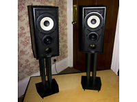 Mission 701 Speakers (Pair 100w x2 ) and Matching Alphason Stands