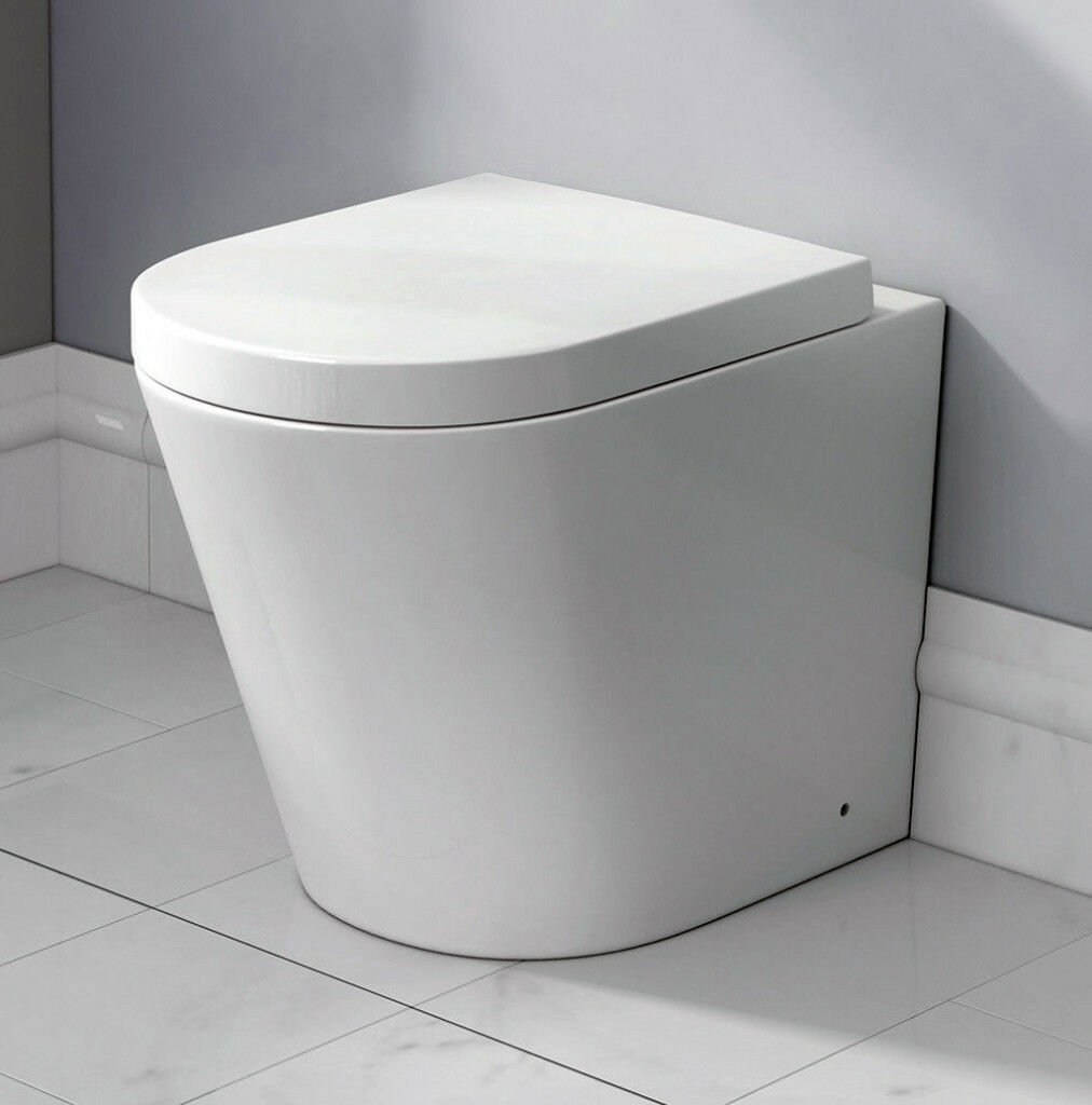 White back to wall WC Toilet (Brand New) | in Warrington, Cheshire ...