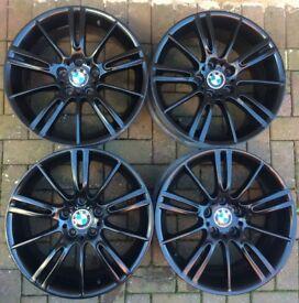 BMW MV3 Alloys - Gloss Black - Set of 4