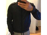 S size jacket blue inc