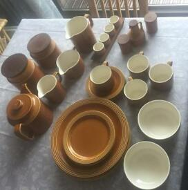 For Sale 1972 Hornsea Saffron Pottery Selection VGC!