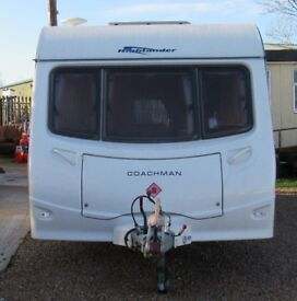 COACHMAN HIGHLANDER 550/5 2007 *DOUBLE DINETTE* 5 BERTH CARAVAN