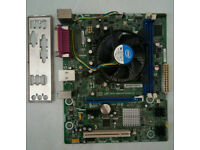 Intel-Core-i3-2100-processor and Intel Fan fitted in a Intel-Motherboard-DH61WW