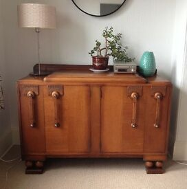 Art Deco Hardwood Sideboard