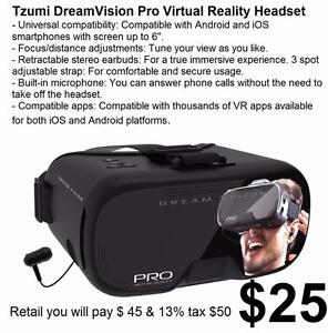 New in Box DreamVision - Virtual Reality Smartphone Headset interactive 3D experience.