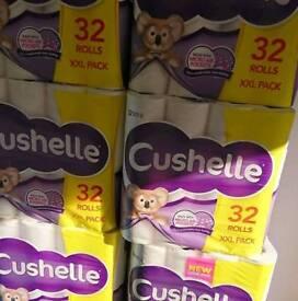 Cushelle 32 pack toilet roll