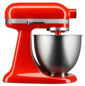 BRAND NEW - UNOPENED - KitchenAid Artisan Mini 3.3 Litre Stand Mixer - Hot Sauce - 5KSM3311XBHT
