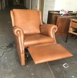 Faux leather electric rise recline chair CAN DELIVER