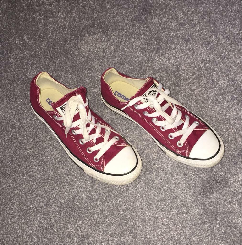 9fd7a1f36db49d Converse red size 6
