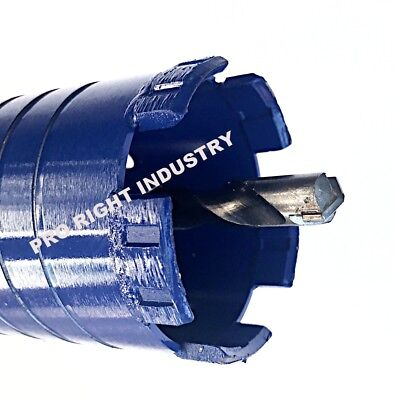 """2 1/2"""" Dry Core Bit for Concrete with SDS Plus Adapter and Center Guide"""