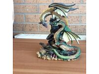 Battle of the Dragons collectable figurine by Tudor Mint
