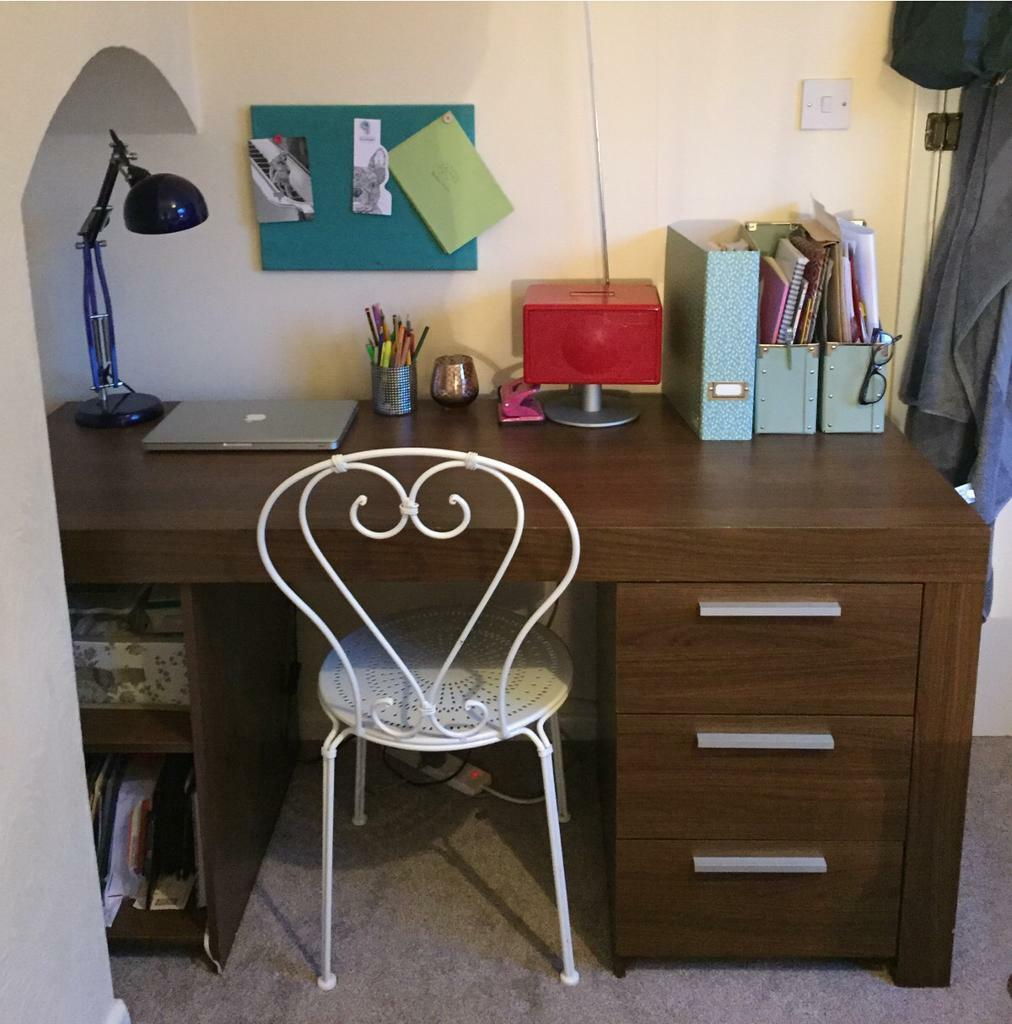 Large desk with 3 drawers and 1 door & Large desk with 3 drawers and 1 door   in Potters Bar Hertfordshire ...