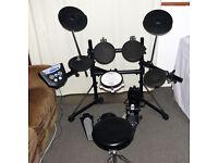 Roland TD-6KV electronic V Drums kit pedal & VEX upgraded module sticks &manuals