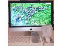 "Apple iMac 27"" Core i7, 12GB RAM, 1TB (+Programs)"