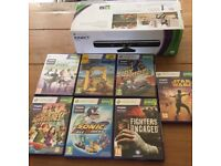 Xbox 360 Kinect plus 7 games