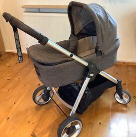 Mamas and Papas Armadillo Flip XT2 Pushchair and carrycot/pram Bundle