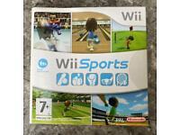 Nintendo Wii sports game