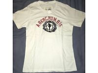 x50 New Mens Abercrombie & Fitch A&F T Shirt size S Small Fast Free Shipping Wholesale