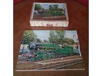 Vintage Victory Wooden Jigsaw Puzzle Romney, Hythe & Dymchurch Miniature Railway Kent