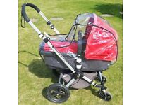 Bugaboo Cameleon 2 Carrycot Pushchair.