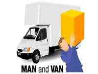 ILFORD REMOVALS SERVICE / MAN & VAN HIRE, LOCAL & NATIONWIDE, LUTON VAN, PORTERS, AVAILABLE 24/7