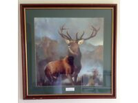 Monarch of the Glen framed print by Sir Edwin Landseer