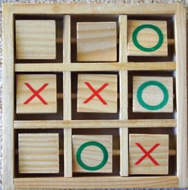 Wooden Noughts and Crosses