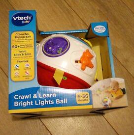 Vtech Crawl and Learn Bright Lights Ball - BNIB
