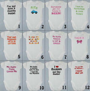 New-Funny-Personalised-Baby-Toddler-Vest-Great-Newborn-Gift-Bodysuit-Grow