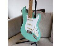 Totally Stunning, Mint, 2020 Fender 50's Sea Foam Stratocaster.