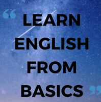 Learn English from basics