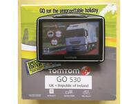 Tom Tom Go 530 HGV, Latest Europe Truck Map, Boxed, Like New, June 2017 !!!