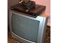 Portable TV and Digital box for sale