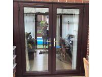 Rosewood External French doors  sc 1 st  Gumtree & Rosewood door | Doors u0026 Windows For Sale - Gumtree