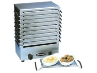 Rowlett Rutland Multiple Hot Plate Warmer - 10 Plates