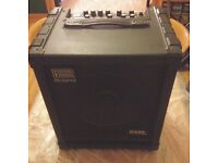 "Roland Cube 100 bass combo amp. 12"" speaker, 100watt."