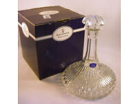 Royal Doulton Crystal Glass Ship's Decanter Boxed (WH_3161)