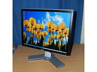 Dell Monitor 2007FPb 20.1-inch incl Power & VGA Cable