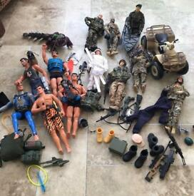 Action Men and HM Armed Forces