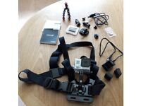 GoPro Hero 3 Plus Silver Edition Camera with extras