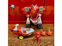 PJ Masks Owlette Vehicle, Turbo Mover Vehicle & Figure