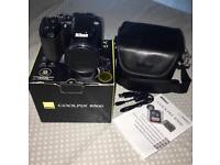 Nikon Coolpix B500 16mp Digital Camera Black RRP £250