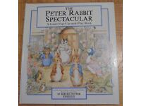 The Peter Rabbit Spectacular: A Giant Pop-Up-and-Play Book. Large 1994 Hardback.