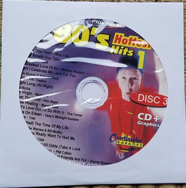 1980S CDG KARAOKE HOTTEST HITS CHARTBUSTER ESP467-03 STRAY CATS,CULTURE CLUB