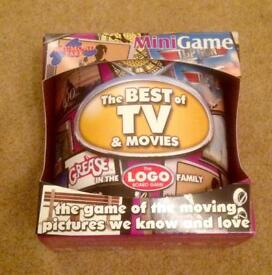 Logo Mini Game. The Best Of TV & Movies. Drumond Park. New Condition.